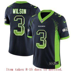 Seattle Seahawks Russell Wilson Drift Jersey